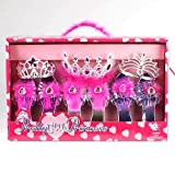 Pretty Little Princess 3 Shoe and 3 Tiara Set