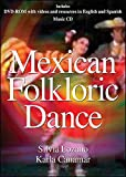 Sylvia Lozano Mexican Folkloric Dance DVD with Music CD