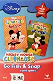 51u6YxJmwBL. SL160  Disney Mickey Mouse Clubhouse Go Fish and Snap Card Games by Cardinal