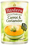 Baxters Vegetarian Carrot and Coriander Soup 400 g (Pack of 12)