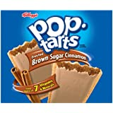Pop-Tarts Frosted Brown Sugar Cinnamon Toaster Pastries, 36-Count