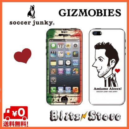 iphone5s  iphone5 ギズモビーズ/SOCCER JUNKY(サッカージャンキー)×Gizmobies/Amiamo Aleeex【iPhone5s/5用】/ カバー/iphoneプロテクター/アイフォン5/5S/バンディエラ/ユーベ