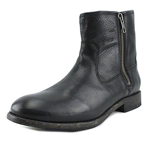 frye-ethan-double-zip-damen-us-6-schwarz-mode-stiefeletten