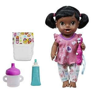 Amazon Com Baby Alive Brushy Brushy Baby Doll African