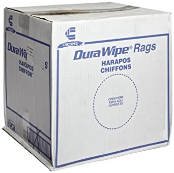 Chicopee 8788 13.5-Inch Length by 12-Inch Width DuraWipe Creped Blue Towel (Case of 250)