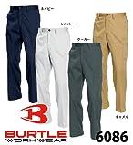 BURTLE バートル  カーゴパンツ(春夏用)  6086 ネイビー 82サイズ