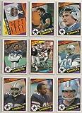 1984 Topps Dallas Cowboys Complete 15 Card Team Set Shipped in an Acrylic Case Team Leaders Card with Tony Dorsett Bob Breunig Doug Cosbie