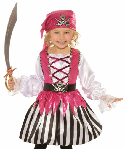 Blushing Buccaneer Girls Costume