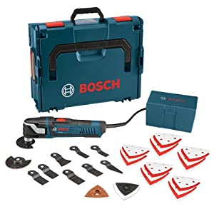 Bosch MX30EL-37 Multi-X 3.0 Amp Oscillating Tool Kit with 37 Accessories