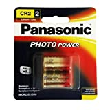 Panasonic 3-Volt Photo Lithium Cylinder 3000mAh Battery (CR2PA2B) (CR-2PA2B)