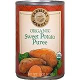 Farmer's Market Organic Sweet Potato Puree, 15-Ounce Cans (Pack of 12) ~ Farmer's Market Foods