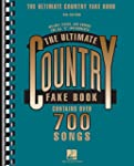 The Ultimate Country Fake Book: C Ins...