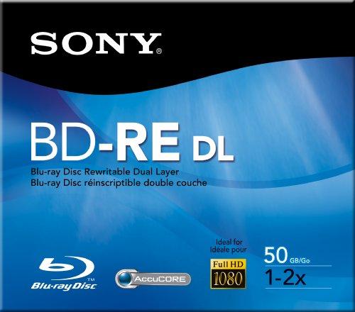 Blu-Ray Disc Rw,1x-2x Spd,50gb,Bare Disc