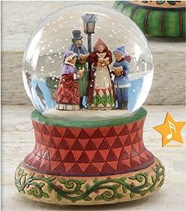 Carolers Musical Snow Globe: Songs of the Season