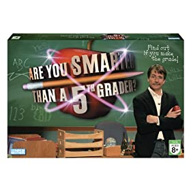 Are You Smarter Than a 5th Grader board game!