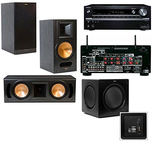 Klipsch Rb-81Ii 3.1 Home Theater System-Onkyo Tx-Nr838 7.2 Channel- Black
