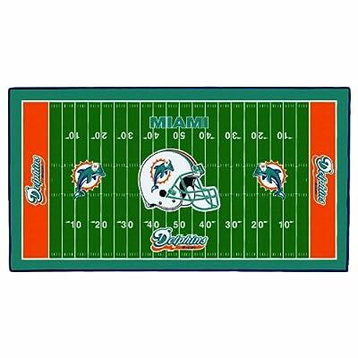 Wincraft Miami Dolphins 28x52 Field Mat