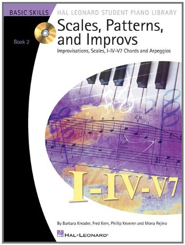 Scales Patterns And Improvs - Book 2 (Book/Cd) - Hal...