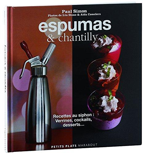 """Livre """"Espumas & chantilly"""" de P. Simon"""