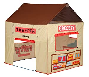Pacific Play Grocery Store Puppet Theater Tent by PACIFIC PLAY TENTS