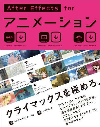 AfterEffects for アニメーション