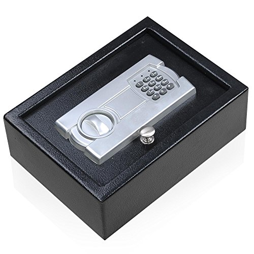Portable-12X9-Keypad-Safe-Hand-Gun-Pistol-Drawer-Keyless-Digital-Electronic-Lock-Car-RV-Cash-Box