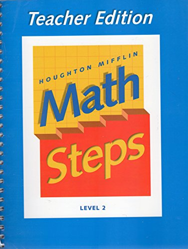 Houghton Mifflin Math Steps - Level 2 - Teacher Edition