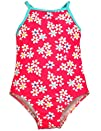 Baby Bunz  Infant and Toddler Girls One Piece Swimsuit Bathing