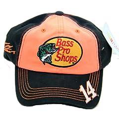 Buy Bass Pro Shops #14 NASCAR 2014 Tony Stewart Racing Cap Hat Adjustable by NASCAR