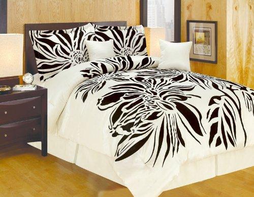 Black Silk Bedding front-1050697