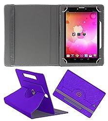 Acm Designer Rotating Case For Vox V102 Stand Cover Purple