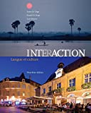 img - for Interaction: Langue et culture (Text Only) book / textbook / text book