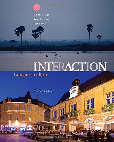 Interaction : Langue Et Culture