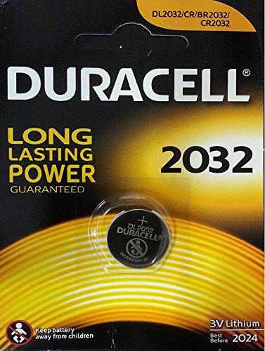Duracell 10DUCR2032 bouton au lithium (3 volts, 10-pack)