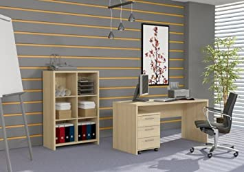 Schreibtisch computertisch p1c19113 ahorn dc620 for Computertisch ahorn