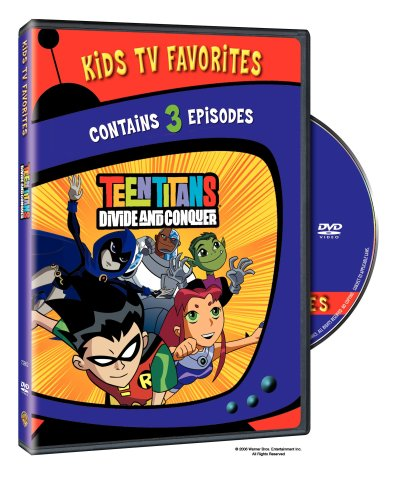 DVD : Teen Titans: Divide and Conquer #1 (Standard Screen)