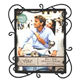 Fetco Home Dcor Austin Picture Frame Tuscan 8 by 10-Inch Tuscan Bronze