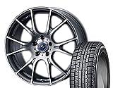 [235/45R18]YOKOHAMA / ice GUARD 5PLUS IG50 スタッドレス [Weds / LEONIS NAVIA 02 (MGMC) 18インチ] スタッドレス&ホイール4本セット レクサスGS(10系 ※エアセンサー装着車は適合しない場合があります。お問い合わせ下さい)、レクサスRC(10系 ※エアセンサー装着車は適合しない場合があります。お問い合わせ下さい)、マークX(130系 ※ビックキャリパー車 3.5L&Gz全車)