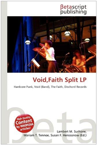 Void, Faith Split LP