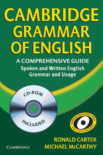 Cambridge Grammar of English Hardback with CD-ROM: A Comprehensive Guide