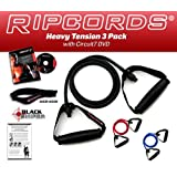 Ripcords Resistance Bands - Heavy 3 Pack with DVDby Ripcords