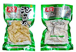 DD2 Chinese Special Snack food: DD2 YoYo Pickled Peppers Chicken Feet 180 G and 100G by YOYO (180G)