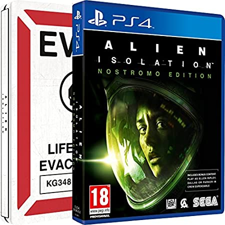 Alien: Isolation - Nostromo Steelbook (Amazon.co.uk Exclusive) (PS4)