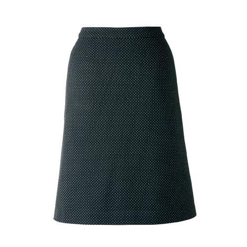 Comfy(コンフィー) Aラインスカート(ABドットニット) 17号ブラック LS2749