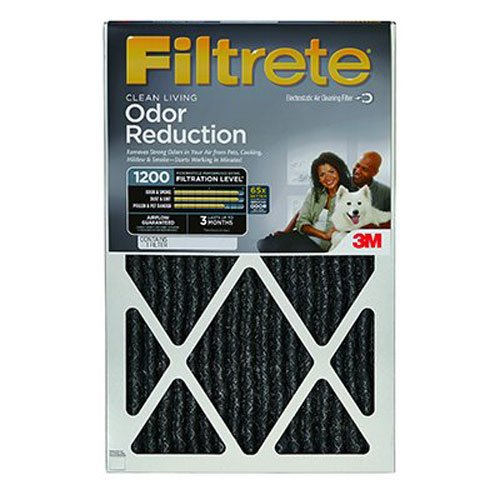 3M COMPANY HOME01-4 16x25x1Odor Reducing Filter (3m 16x25x1 Furnace Filter compare prices)