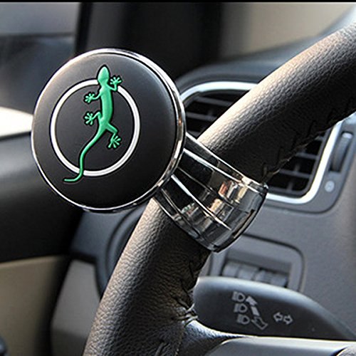 KDL Car Steering Wheel Knob Auxiliary Booster Aid Control Handle Ball Carbon Universal (Power Steering Booster compare prices)