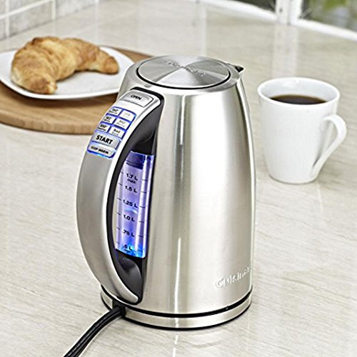 Tea & Coffee Makers - Cuisinart PerfecTemp 7 Cup Capacity Stainless Steel Cordless Electric ...