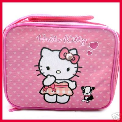 Hello Kitty Lunch Boxag with Shoulder Strap - Buy Hello Kitty Lunch Box/