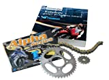 Tsubaki 520 Alpha XRG Chain Kit 15/45 for Yamaha XT600E Built Between 1989 and 2003