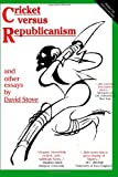 img - for Cricket versus Republicanism: and other essays book / textbook / text book